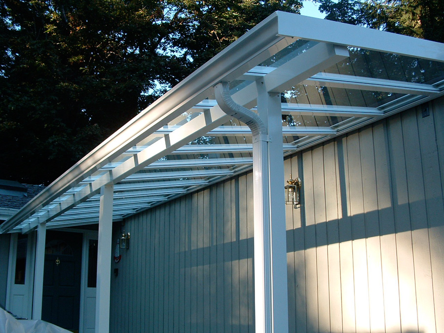 Patio Covers - Laminated Glass